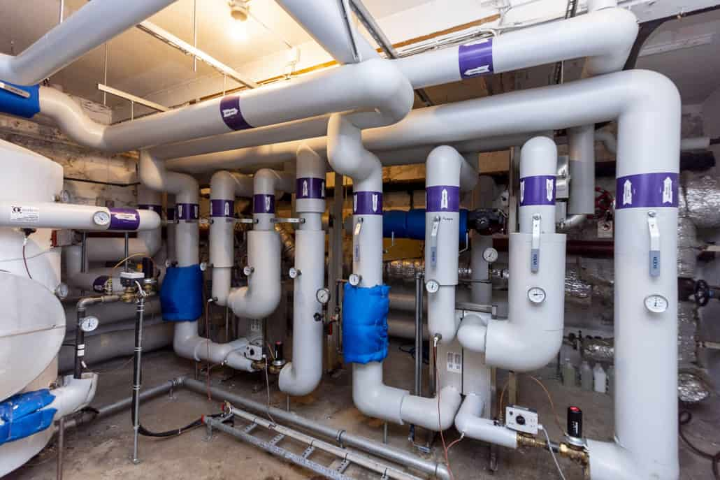 service af varmeanlæg udføres af vvs installatør for privat og erhverv